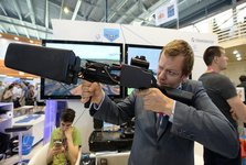عکس/ تفنگ ضد هواپیما