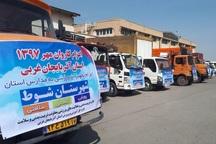 کاروان تجهیزات ورزشی امید رهسپار مدارس آذربایجان غربی شد