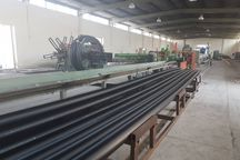 تولید روزانه ۲۰ تن لوله پلی اتیلن در ایرانشهر