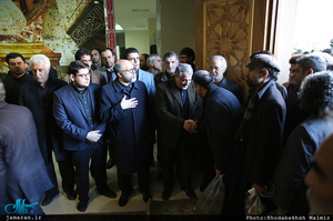 مراسم بزرگداشت آیت الله هاشمی رفسنجانی(ره) در واحد علوم تحقیقات دانشگاه آزاد اسلامی-2
