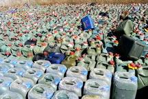 کشف بیش از ۲۷ هزار لیتر سوخت قاچاق در مرز دوغارون