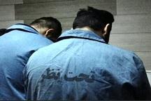 دستگیری سارقان طلا و جواهرات در شهرستان نظرآباد