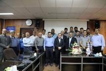 دیدار تیم قهرمان بسکتبال آسیا با مدیرعامل شرکت سهامی پتروشیمی بندرامام