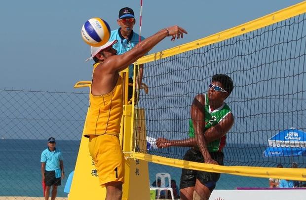 تور جهانی والیبال ساحلی در منطقه آزاد انزلی می شود