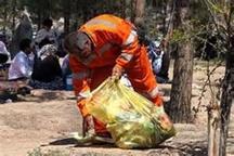افزایش چند برابری حجم زباله در روز عید قربان در سطح شهر زاهدان
