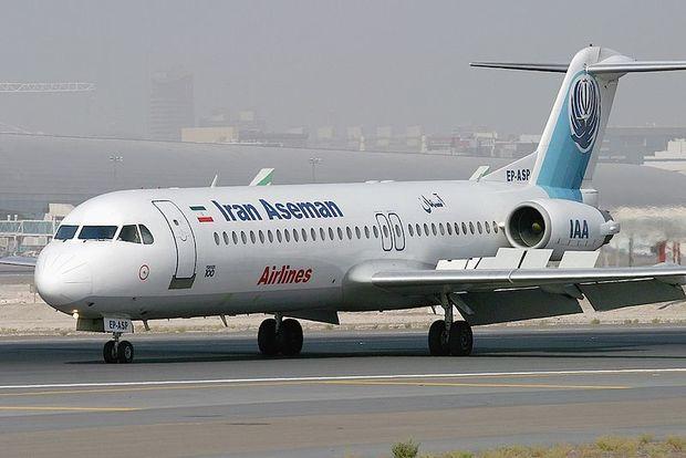 هواپیمای حامل وزیر ارتباطات راهی تهران شد