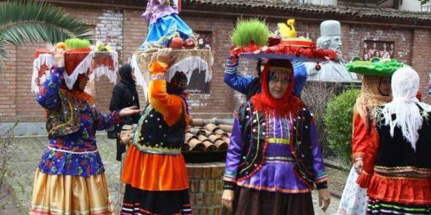 رنگین کمان فرهنگ وهنر گیلان در جشنواره ترنم بهارمنطقه آزاد انزلی