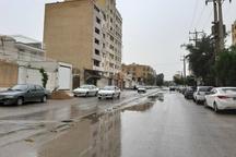 بارندگی، وزش باد شدید و گرد و خاک پدیده های غالب خوزستان است