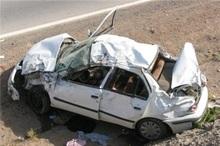 واژگونی خودرو سواری در یاسوج 6 مصدوم بر جا گذاشت