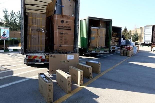 تلویزیون های قاچاق در شهرستان البرز کشف شدند