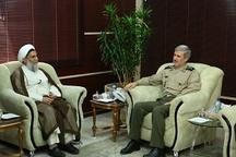 دیدار وزیر دفاع با رئیس سازمان عقیدتی سیاسی ارتش