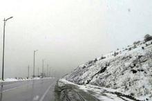 ارتفاعات حیران آستارا در آستانه بهار سفیدپوش شد