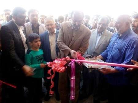 یک طرح ورزشی در روستای آراسنج بوئین زهرا افتتاح شد