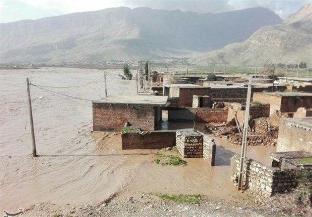 سیل، حدود 124 میلیارد ریال به شهرستان جاجرم خسارت زد
