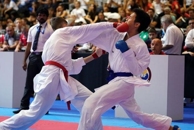 کاراته کاهای کرمانشاهی در لیگ جهانی ناکام ماندند