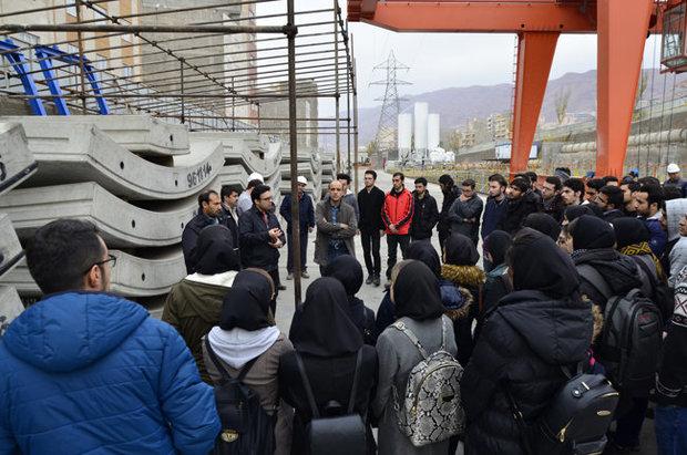 کارگاههای مترو تبریز آماده بازدید دانشجویان است