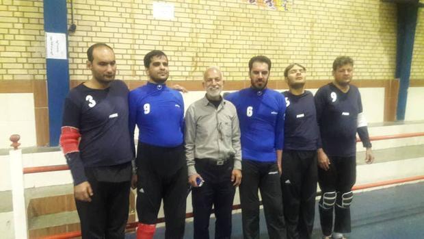 2 تیم از جهرم قهرمان و نایب قهرمان رقابت گلبال فارس شدند