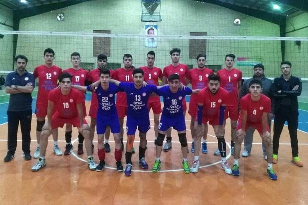 والیبالیست های جوان شهرداری ارومیه مقابل کاله مازندران پیروز شدند