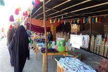 بازارچه نوروزی صنایع دستی در تاکستان راه اندازی شد