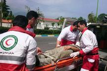 هلال احمر سمنان به 558 حادثه دیده امداد رسانی کرد
