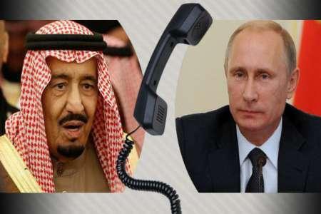 مذاکره پوتین با پادشاه عربستان در باره تنش عربی