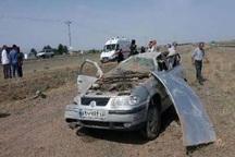 سه نفر از مصدومان حادثه واژگونی خودرو در گناباد فوت کردند