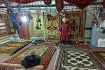 برتری غرفه صنایع دستی رازوجرگلان در دومین نمایشگاه سراسری خراسان جنوبی