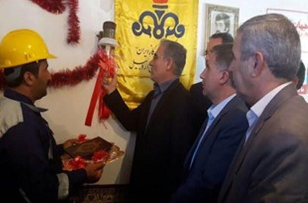 طرح گازرسانی به  19روستای بخش جعفرآباد شهرستان بیله سوار افتتاح شد
