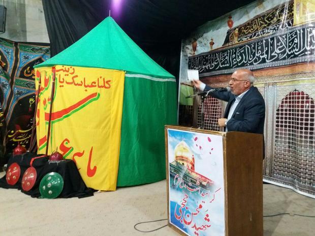 یادواره شهدای مدافع حرم و شهید حججی در مهریز برگزار شد