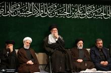 اولین شب عزاداری حضرت اباعبدالله الحسین(ع) در حسینیه امام خمینی(ره)