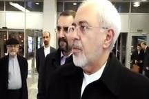 ظریف: نحوه حضور اخیر آمریکا در سوریه خطرناک است