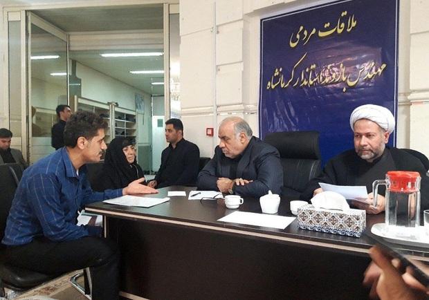 جمعی از مردم کرمانشاه با استاندار دیدار کردند