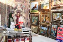 نمایشگاه دستبافتههای نفیس فرش در اردبیل افتتاح شد