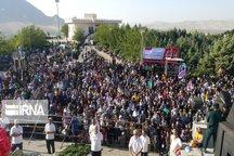 همایش بزرگ پیاده روی خانوادگی در ملایر برگزار شد