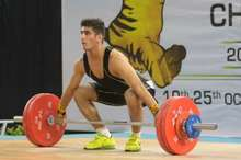 حضور وزنه بردار جوان آذربایجان غربی در اردوی تیم ملی