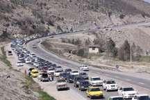 ترافیک مسیر هراز سنگین است  هراز یک طرفه شد