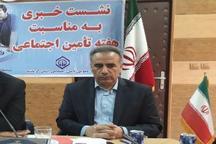 38 درصد ازجمعیت استان کرمانشاه زیرپوشش بیمه تامین اجتماعی قرار دارند