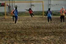 فوتبال ساحلی بانوان  نماینده گلستان نتیجه را واگذار کرد