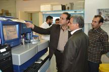 راه اندازی دستگاه آزمایشگاهی  اتوآنالایزر در بیمارستان امام رضا (ع) شهرستان مه ولات