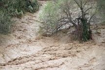 طغیان رودخانه حاجی عرب در بویین زهرا مهار شد