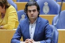صهیونیست ها نماینده مجلس هلند را در راهپیمایی بازداشت کردند