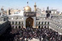اجتماع عزاداران حسینی در حرم مطهر رضوی