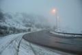 جاده های کوهستانی اردبیل برفی هستند