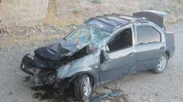 واژگونی خودرو ال 90 چهار مصدوم برجای گذاشت