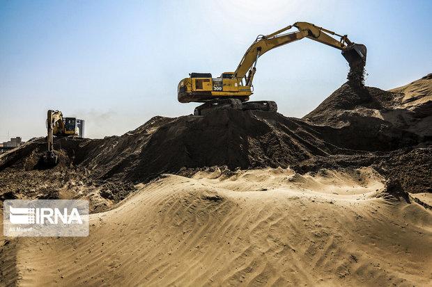 رودخانه فیروزآباد ری لایروبی شد