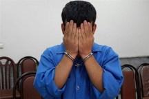 سارق حرفه ای با 11 فقره سرقت در اهواز دستگیر شد