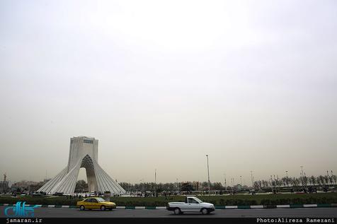 روند کاهشی دمای هوای تهران تا فردا