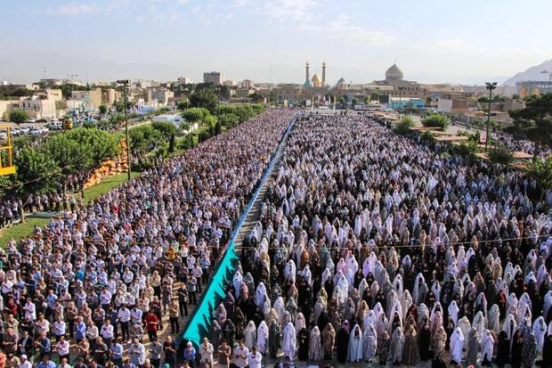 نماز عید فطر در ضلع جنوب حرم عبدالعظیم (ع) اقامه می شود