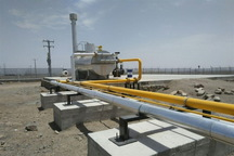 طرح گازرسانی روستایی در نقده به بهره برداری رسید