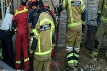 کارگر افغان براثر ریزش  چاه  در تهران جان باخت